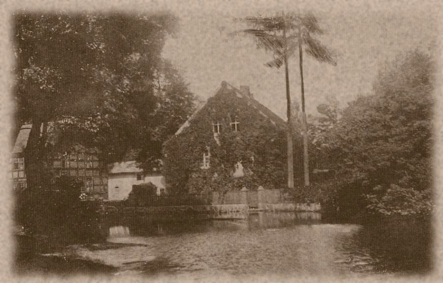 Mill household buildings